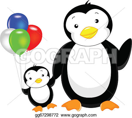 Balloon clipart penguin Balloon Cute gg67298772 Vector Drawing