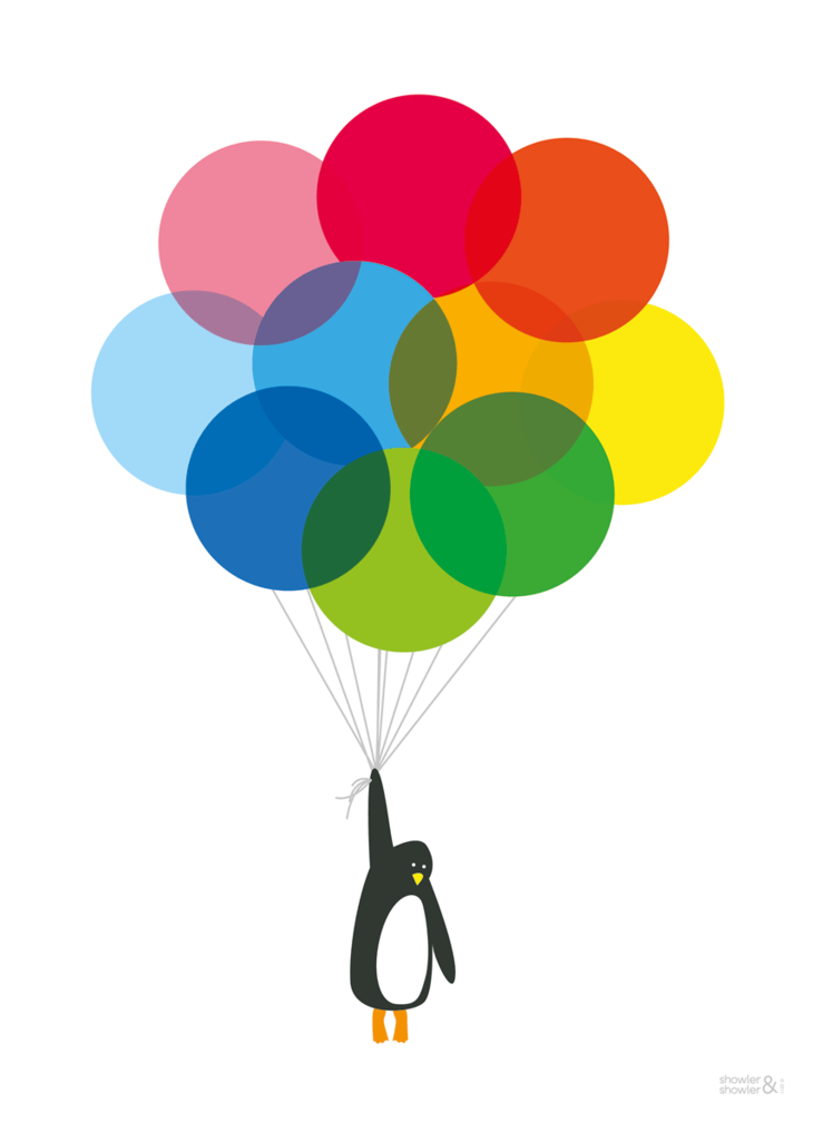 Balloon clipart penguin Showler Balloons Mr  Penguin