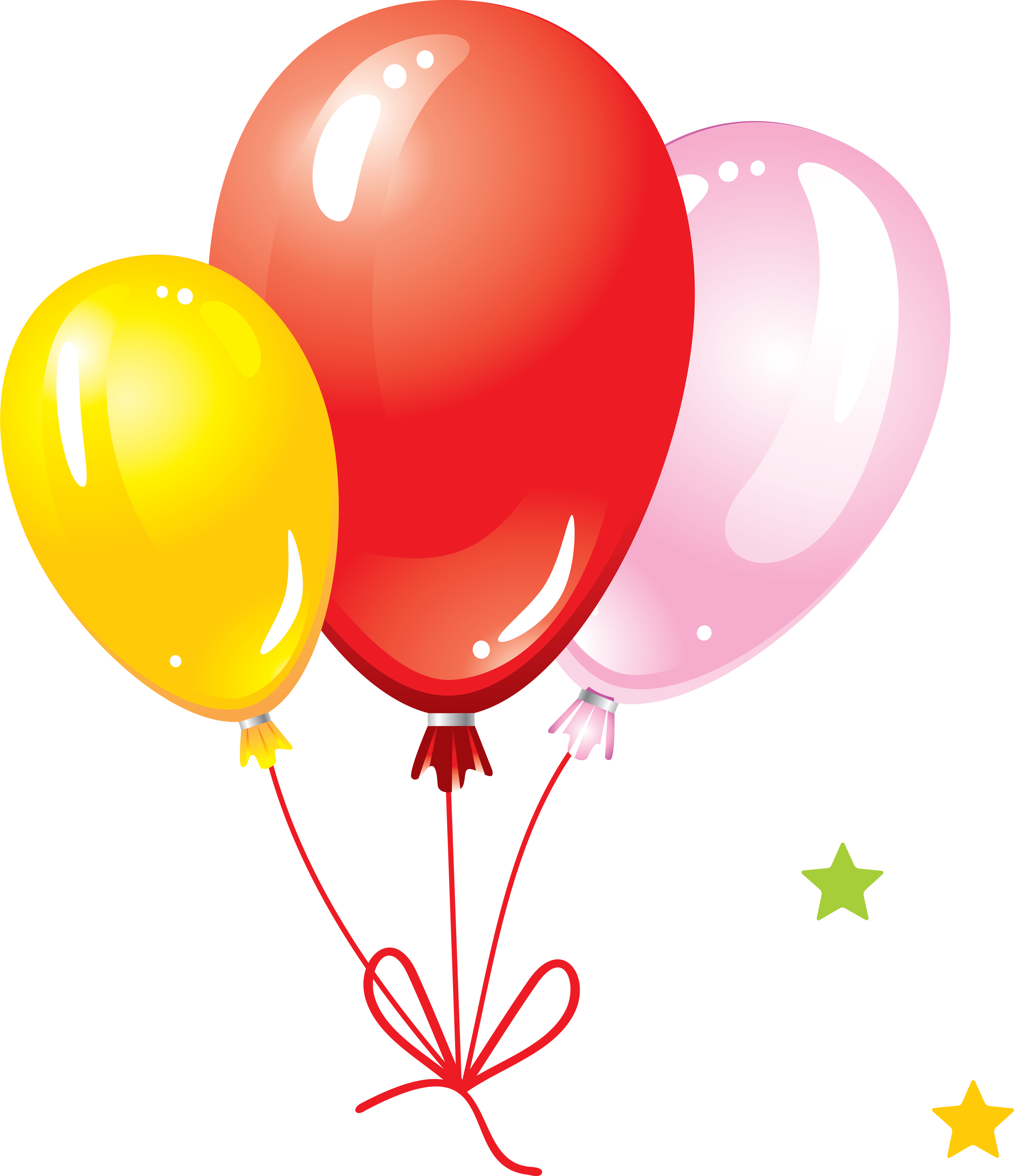 Balloon clipart seven By Isolated Balloons Full Stock