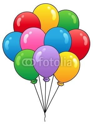 Balloon clipart ten 1 pixers Lessons nl bright
