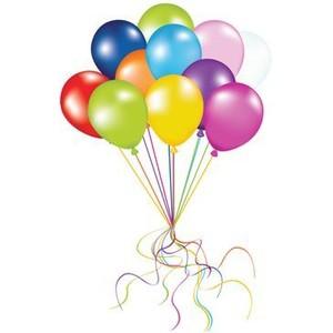 Balloon clipart ten Party ~ 100 Items Clipart