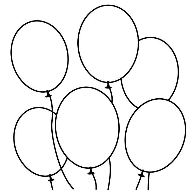 Balloon clipart ten Blogsbeta Clipart Clipart Black 7204