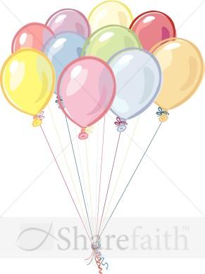 Balloon clipart ten Birthday Clipart Clipart  Birthday