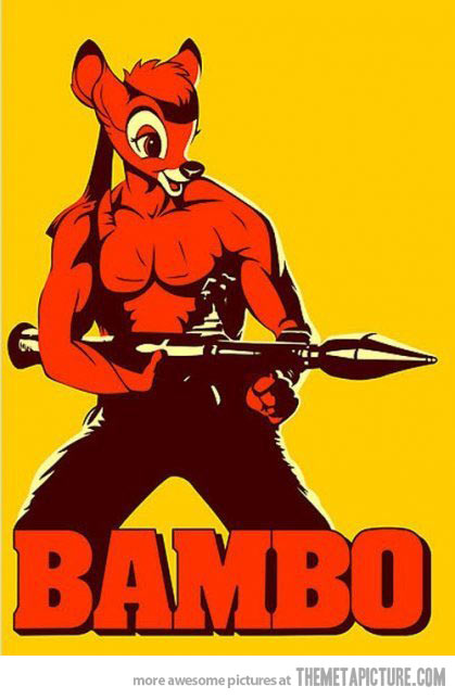 Firefighter clipart badass The Picture Badass Bambi Bambi