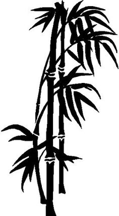 Drawn bamboo BAMBOO by Silhouette Silhouette DECOR