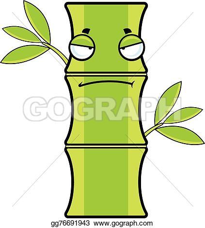 Bamboo clipart cartoon Bamboo gg76691943 Vector bored with