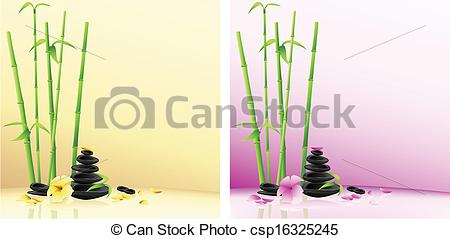 Bamboo clipart spa Flower Vector bamboo  Spa
