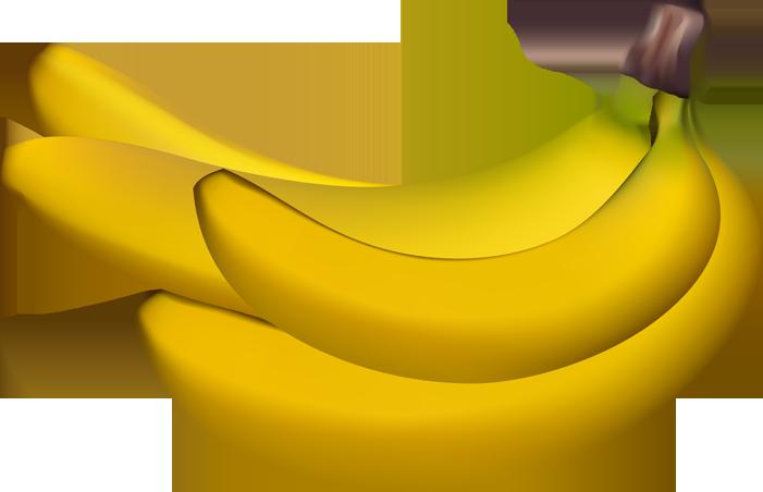 Banana clipart bannana Clip art downloadclipart fruit clip