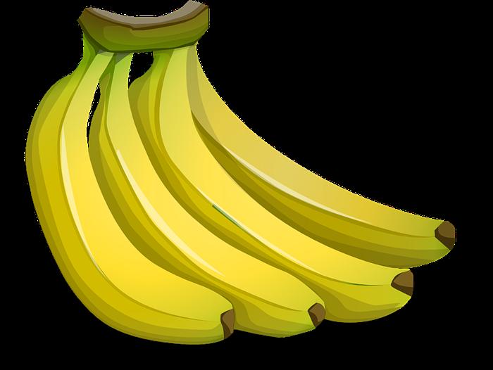 Papaya clipart banana bunch #7