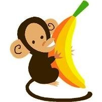 Banana clipart baby monkey And Clipart With  monkey