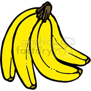 Banana clipart banana bunch Bunch vector art  clip