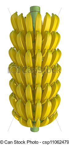 Banana clipart banana bunch Of of  of on