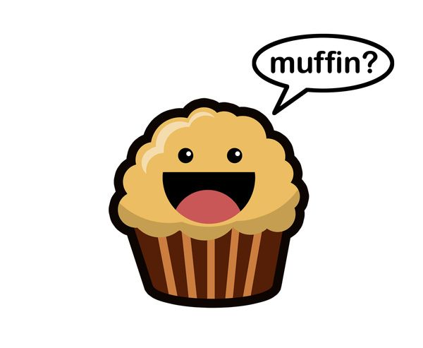 Blueberry Muffin clipart junk food  about Muffin Cute things