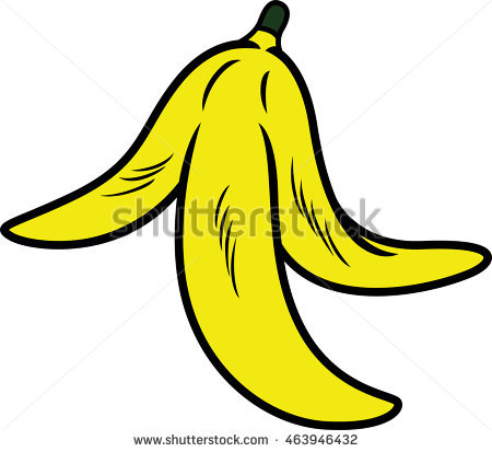 Banana clipart banana peel Banana Peel Shutterstock Clipart peel