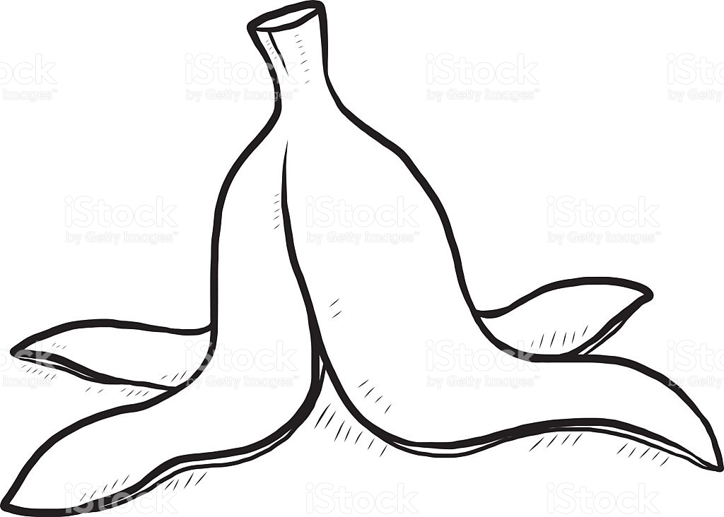Banana clipart banana skin The banana l Banana Black