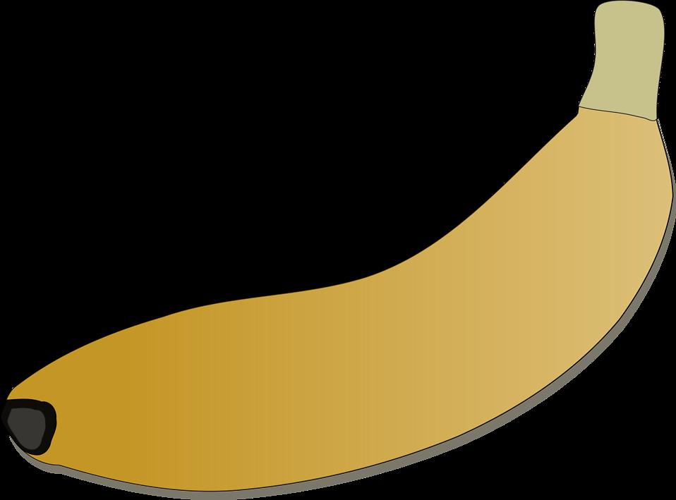 Banana clipart blank Banana of a Free 11397
