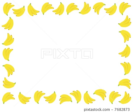 Banana clipart border Frame banana bananas 7682873 [7682873]