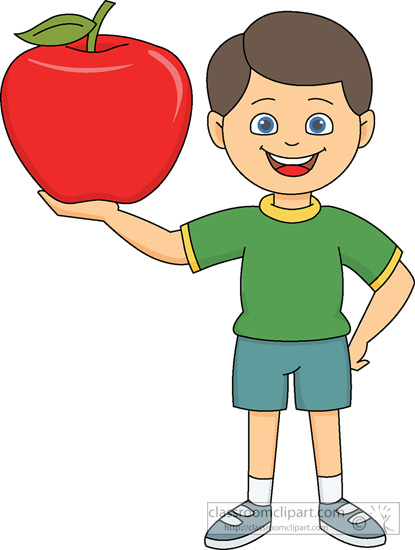 Banana clipart boy Fruit 1 clipart holding From: