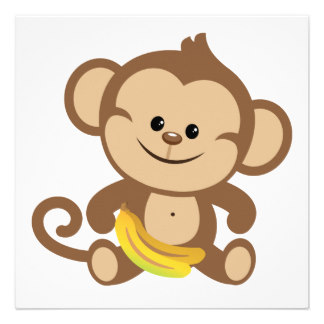 Banana clipart boy Boy Banana  With Invite
