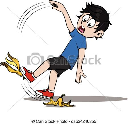 Banana clipart boy Csp34240855 skin csp34240855 banana floor