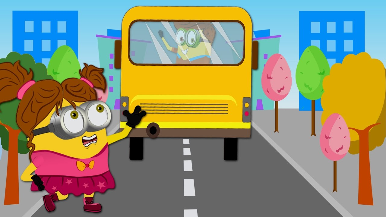 Banana clipart bus The Song Miss Funny Story