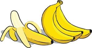Papaya clipart banana bunch #12