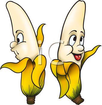 Banana clipart cartoon character Bananas 138 of about Free