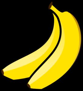 Banana clipart color yellow Free on  Yellow Banana