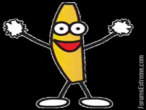 Banana clipart dance Banana  YouTube Cartoon Dancing