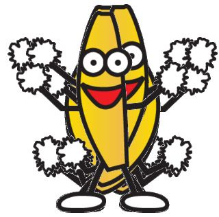 Banana clipart dance Images GIF The Dancing World