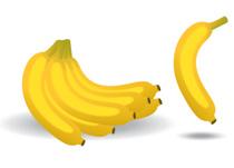 Banana clipart different fruit Graphics 72 Kb fruit banana