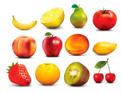 Collection fruit Free clipart clipart