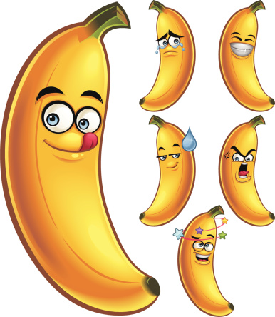 Banana clipart face Banana Cliparts Cartoon With Cliparts