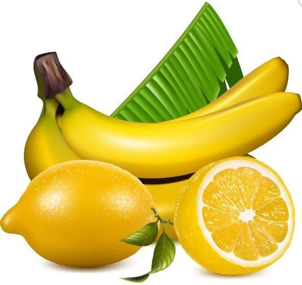 Banana clipart fruit and veg ART VEGETABLES AND AND FRUIT