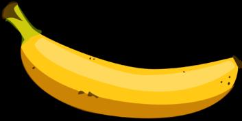 Banana clipart fruit and veg Images Free Clipart 2614 ClipartWar