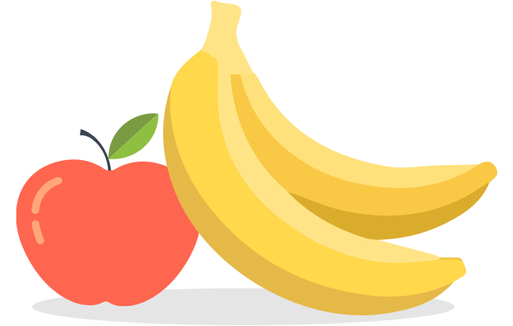 Banana clipart fruits and vegetable Frozen usual fruit and Veggies