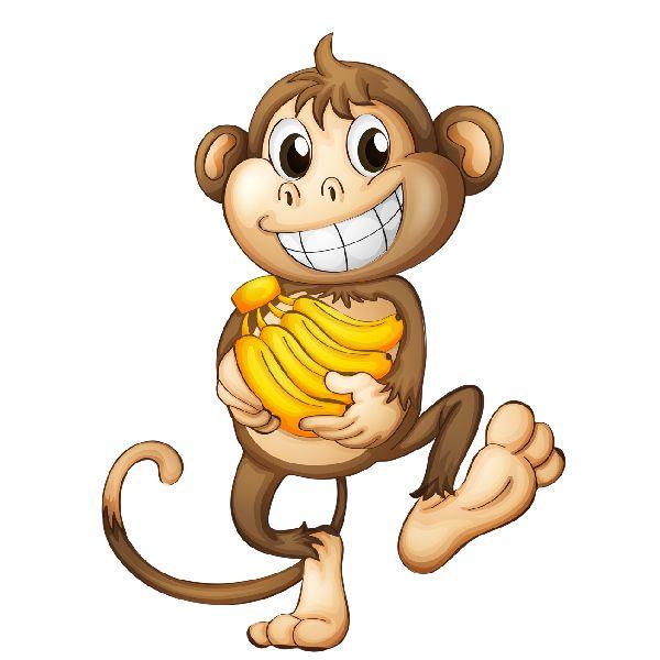 Banana clipart gorilla обезьян Pinterest on png Рисунки
