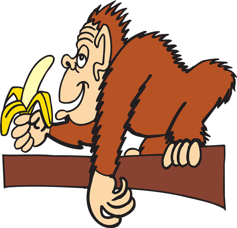 Banana clipart gorilla Pictures Clipartix banana Art Clip