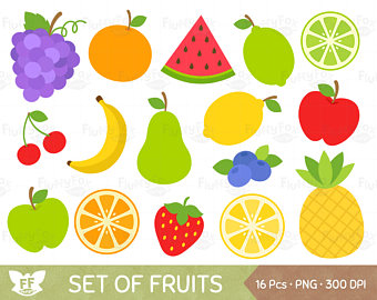 Grape clipart friut Studio Cherry Pear Fruit Clip