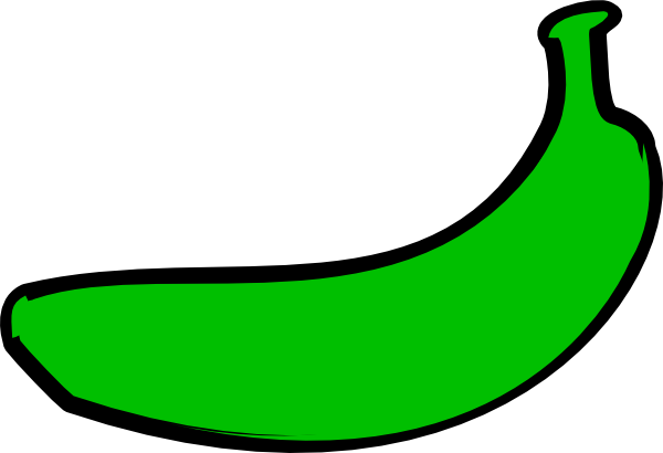 Banana clipart green banana Image this Art Download at