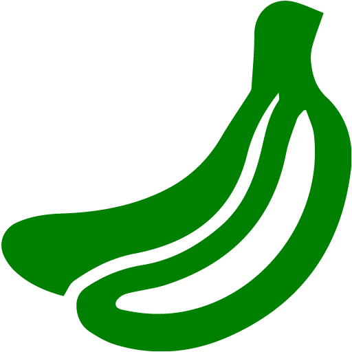 Banana clipart green banana Icon banana green Green fruit