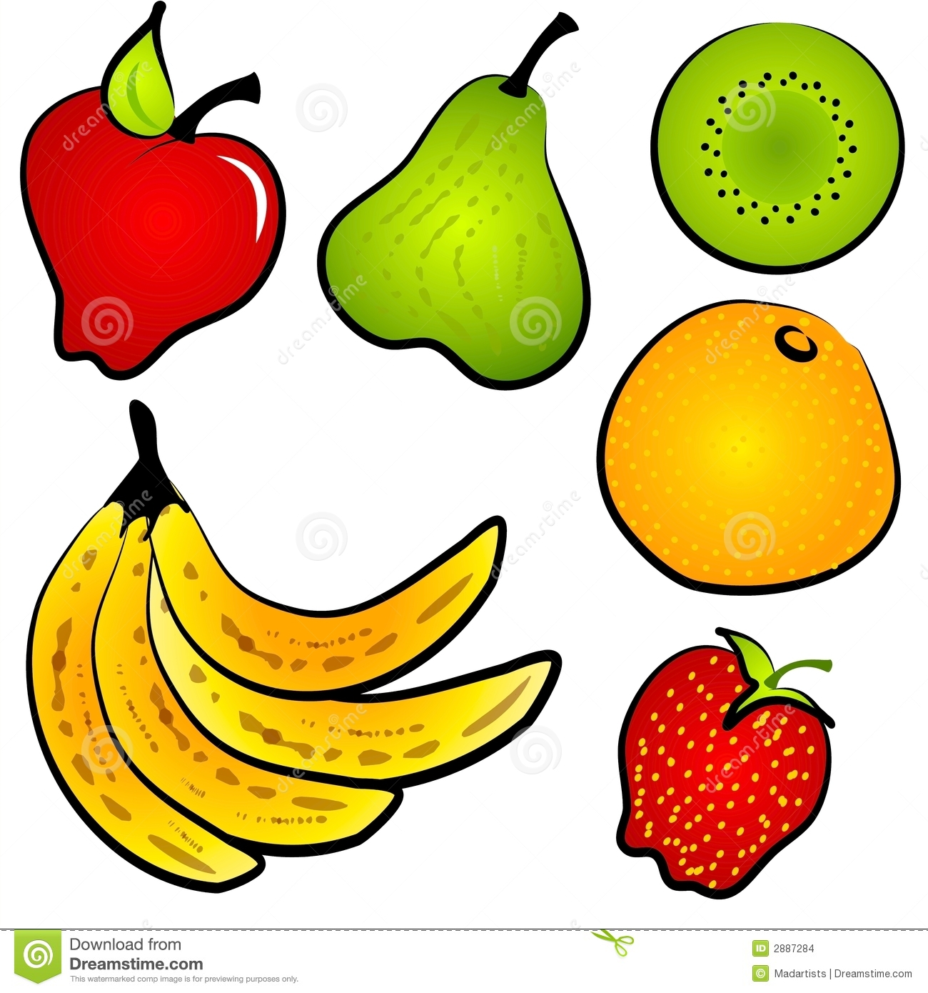 Banana clipart healthy snack Health – Stock Illustrations collection