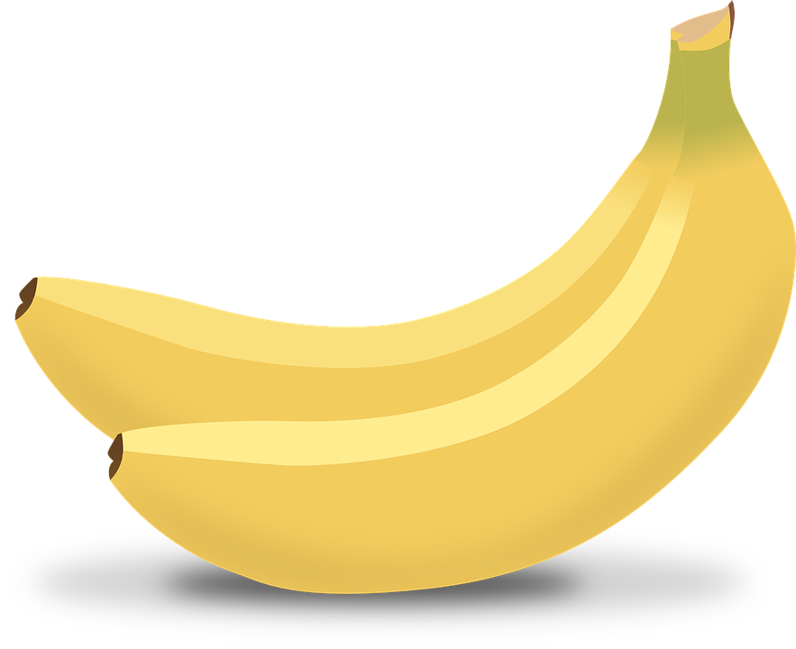 Banana clipart healthy snack Healthy Pixel Fruits Pepper Snack