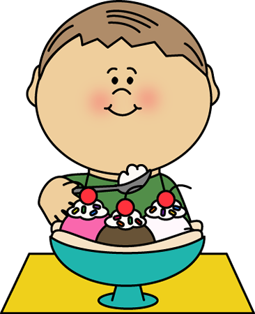 Banana Split clipart traditional Ice Eating Split Cream Art