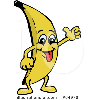 Banana clipart illustration (RF) Designs Stock Illustration Dennis