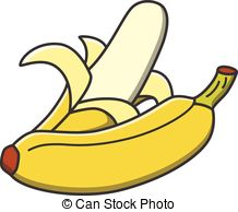 Banana clipart illustration Vector Banana Clip 21 Banana