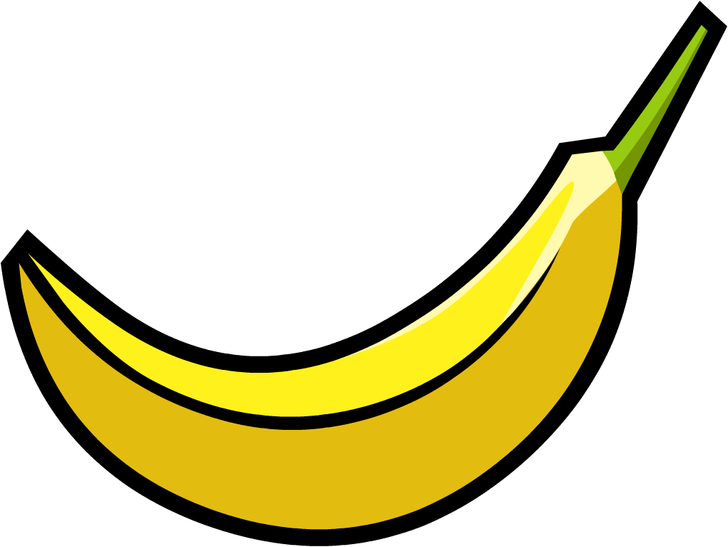 Banana clipart individual Banana Wiki Smoothie Banana Smash