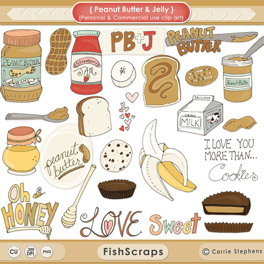Banana clipart individual Recipes Clipart Butter and Treat