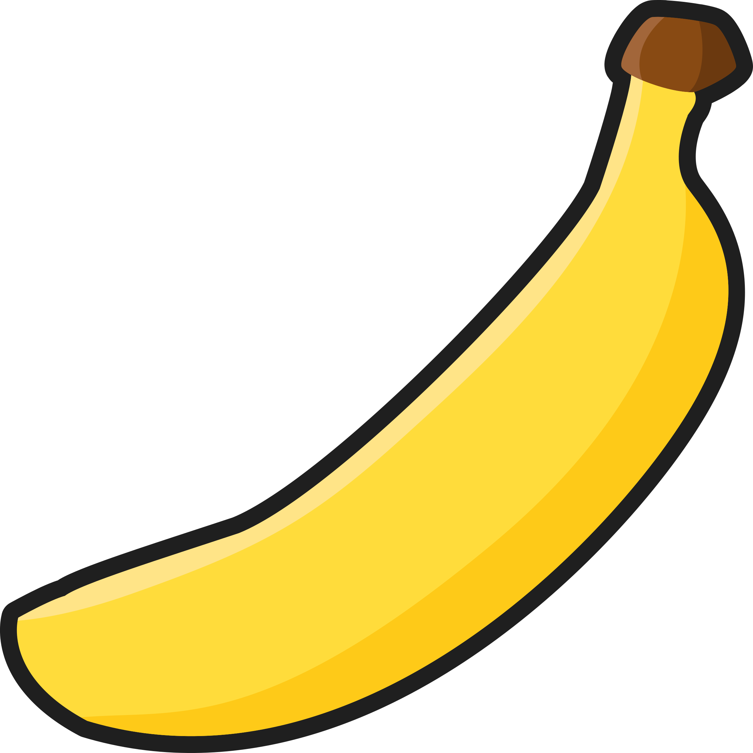 Banana clipart individual Follow Banana com clipartsgram us