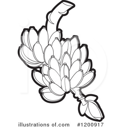 Banana clipart line drawing Lal Clipart Lal by Perera